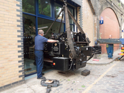 Delivery of our new Heidelberg cylinder